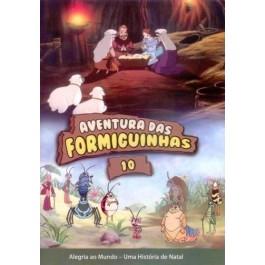 DVD Aventura das Formiguinhas - Uma História de Natal  Vol 10 - PROMESSAS PRECIOSAS