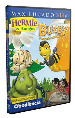 DVD Max Lucado- Hermie & Amigos Buzby - O Zangão Desobediente - PROMESSAS PRECIOSAS