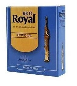 Palheta Rico Royal Sax Soprano (Unitário) - Musical Perin