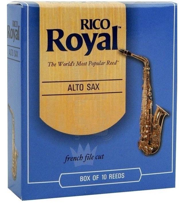 Palheta Rico Royal Sax Alto (Unitário) - Musical Perin
