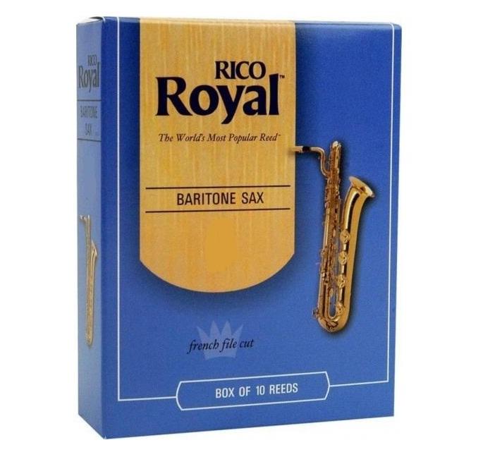 Palheta Rico Royal Sax Barítono (Unitário) - Musical Perin