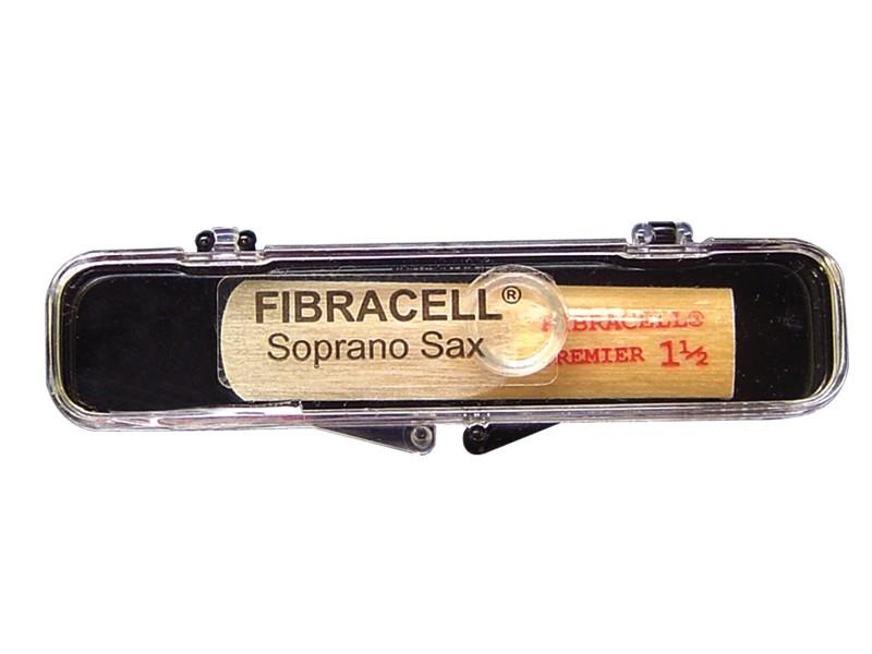 Palheta Fibracell Premier Sax Soprano - Musical Perin