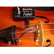 Captador Black Bug Fisher P/ Violinos e Violas