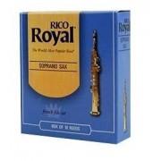 Palheta Rico Royal Sax Soprano (Unitário)