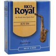 Palheta Rico Royal Sax Alto (Unitário)