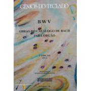 Método Gênios do Teclado BWV Obras do Catálogo de Bach p/ Órgão