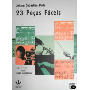 Método Johann Sebastian Bach 23 Peças Fáceis para Piano