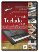 DVD Aprenda Teclado Vol. 2