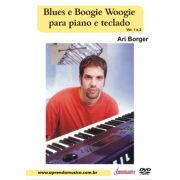 DVD Blues e Boogie para Piano e Teclado Vol. 1 e 2