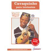 DVD Cavaquinho para Iniciantes - Robson Miguel