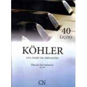 Método Kohler Órgão Eletrônico - 40 Lições Op. 189
