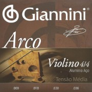Encordoamento Giannini Violino