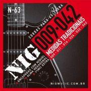 Encordoamento NIG N-63 Guitarra