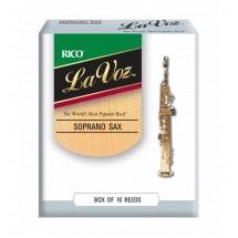 Palheta La Voz Sax Soprano (Unitário) - Musical Perin