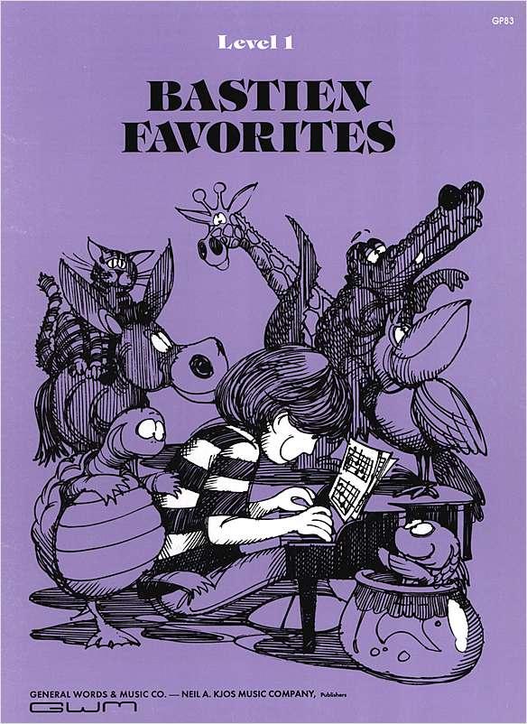 Método Bastien Favorites Level 1 - Musical Perin