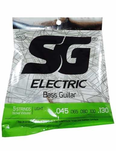 Encordoamento SG Conta Baixo 5 cordas - Musical Perin