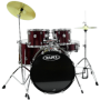 Bateria Mapex Voyager VR 5244T BDR - Musical Perin