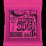 Encordoamento Ernie Ball Super Slinky Guitarra 09 - Musical Perin