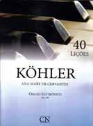 Método Kohler Órgão Eletrônico - 40 Lições Op. 189 - Musical Perin