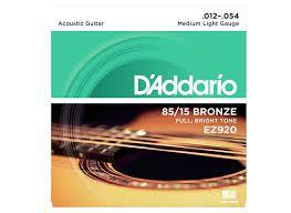 Encordoamento Daddario EZ920 Violão - Musical Perin