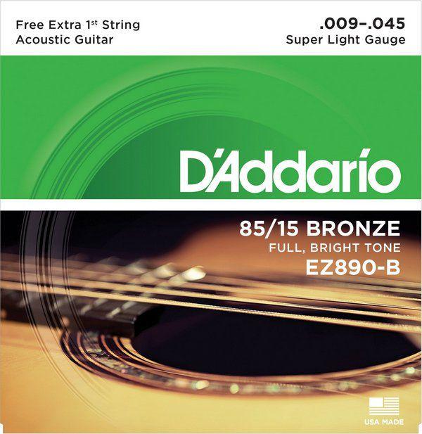 Encordoamento Daddario EZ890-B Violão - Musical Perin