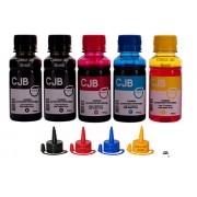 Kit Refil de Tinta Canon Canon GI-190 G1100 G2100 G3100 G3111 G4100 G4102  (5x100ml)