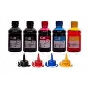Kit Refil de Tinta Canon GI-190 G1100 G2100 G3100 G3111 G4100 G4102  (5x250ml)