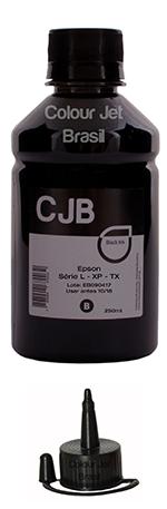 Refil de Tinta Epson L355 L365 L375 L395 BLACK  (250ml)