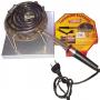 Fogareiro elétrico blindado de 1000 wats de potencia ideal para cozimento e para estourar pipocas Modelo 0864 - Pipocar