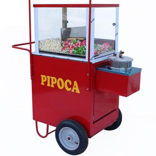 Carrinho de pipoca doce e salgada e abertura lateral Pipocar 42132