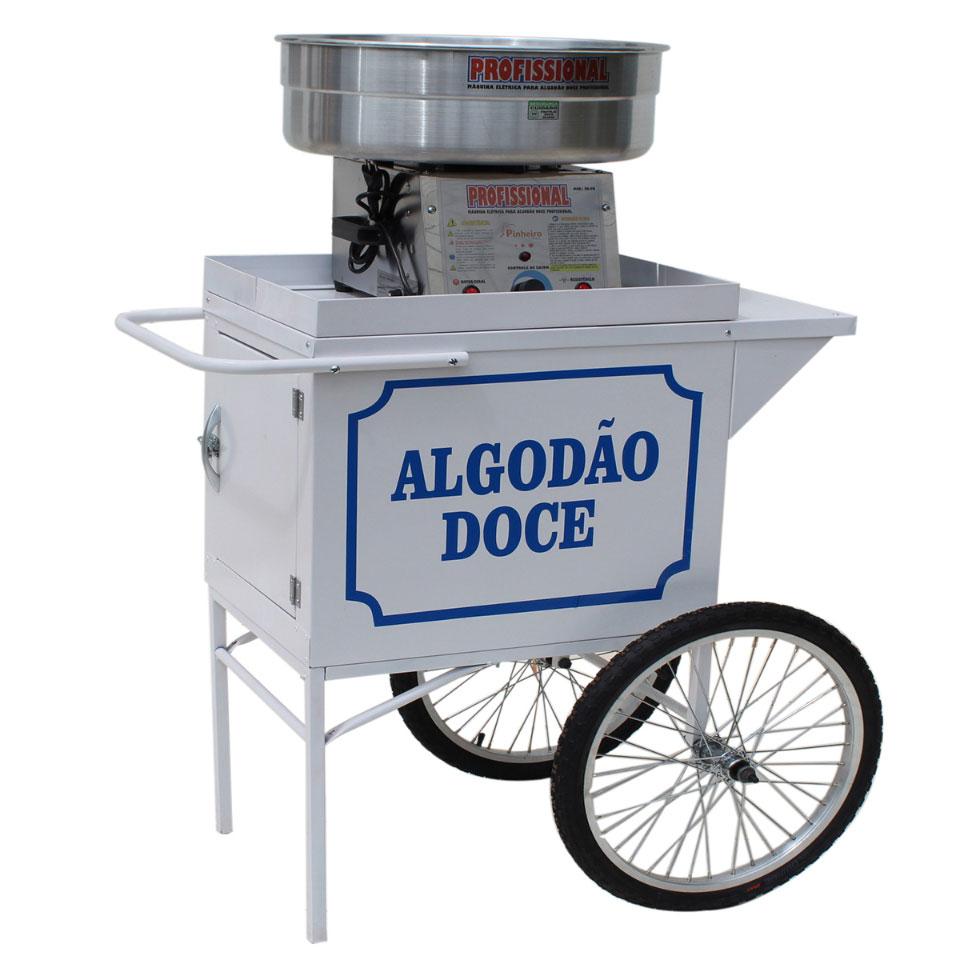 Carrinho para adaptar a máquina algodão doce - sem a máquina algodão doce -Pipocar MD 4201