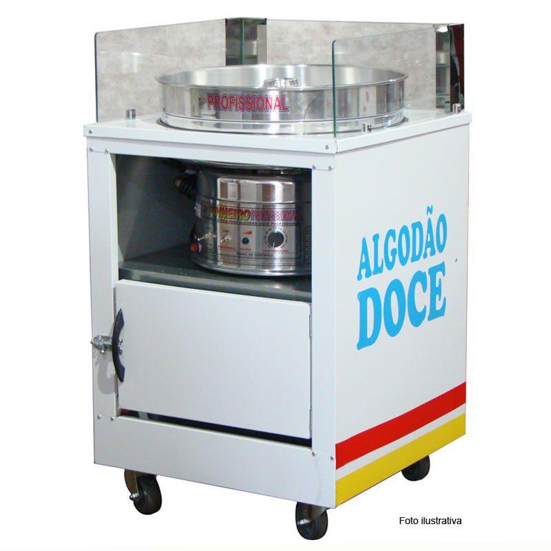 Gabinete de algodão doce sem a máquina  Modelo 50151 Pipocar