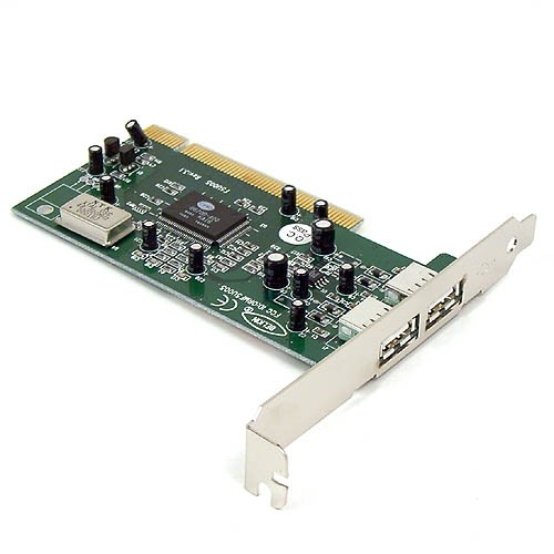 PLACA PCI 02 PORTAS USB - In-Pacto Informática