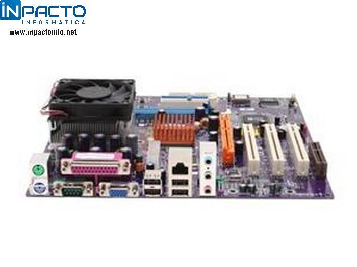PLACA MAE ECS 741GX-M C/ ATHLON XP 2400 - In-Pacto Informática