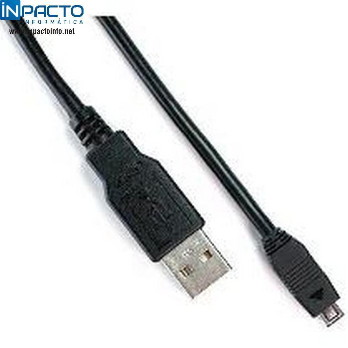 CABO USB A X MINI USB 10P 1,80M SAMSUNG-21032 - In-Pacto Informática