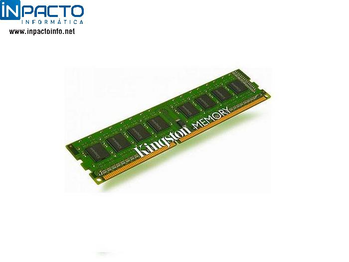 MEMORIA 4GB KINGSTON DDR3 1333 - In-Pacto Informática
