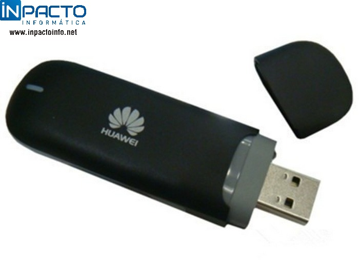 MODEM 3G USB HUAWEI E-3131A PRETO DESBLOQ - In-Pacto Informática