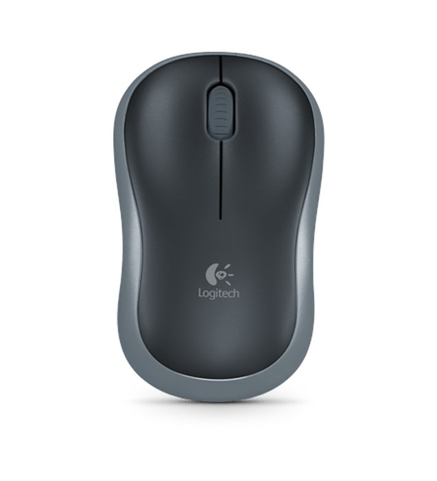 MOUSE LOGITECH WIRELESS M185 GRAFITE - In-Pacto Informática