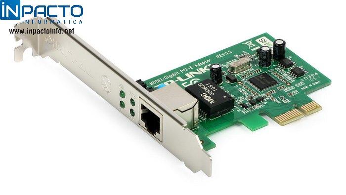 PLACA REDE PCI-E TP-LINK TG-3468 GIGABIT - In-Pacto Informática