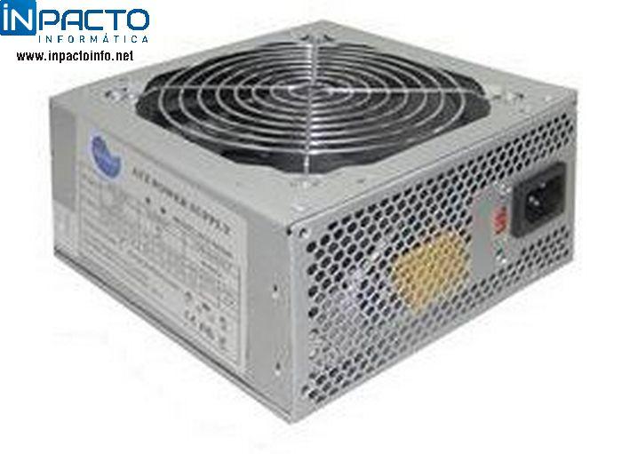 FONTE ATX PCTOP 24P 500W REAIS FAPT500 - In-Pacto Informática