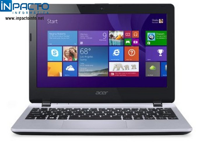 NOTEBOOK ACER E3-111-COWA(2G/ HD320/11.6/ W8) - In-Pacto Informática