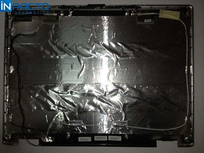 CARCAÇA TAMPA LCD  ACER 3100 / 5100 - In-Pacto Informática