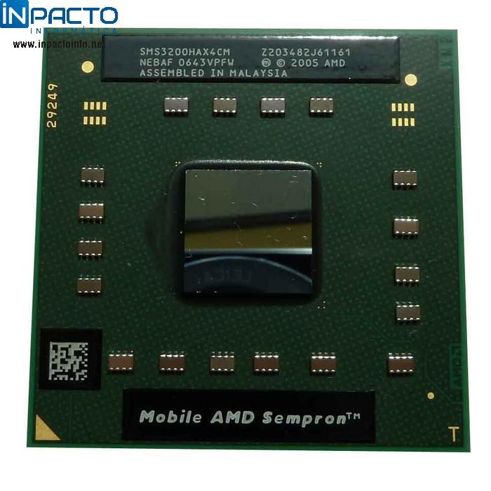 PROCESSADOR AMD SEMPRON 3200+ 1.60GHZ - In-Pacto Informática