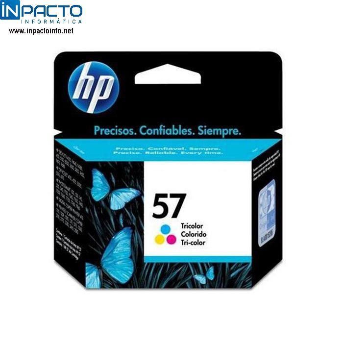 CARTUCHO HP 57 (C6657AB) COLOR ORIGINAL - In-Pacto Informática