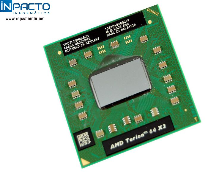 PROCESSADOR AMD TURION 64 X2  1.9GHz - In-Pacto Informática