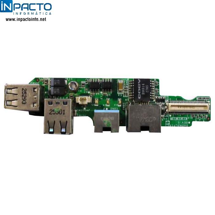 PLACA USB + RJ11 + RJ45 DELL  D510 - In-Pacto Informática