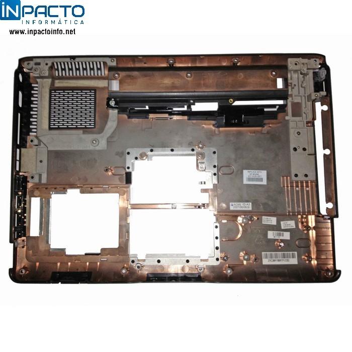CARCAÇA BASE INFERIOR HP DV6000
