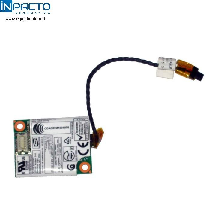 PLACA FAX/MODEM FOXCONN - In-Pacto Informática
