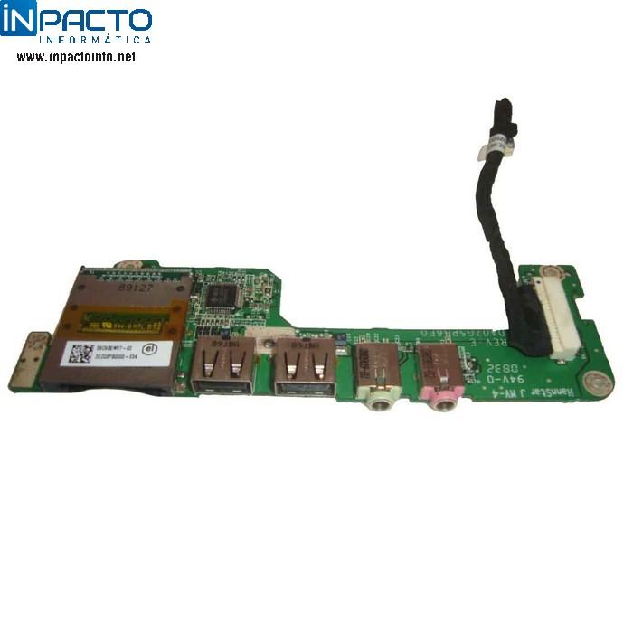 PLACA USB + AUDIO + CARDREADER ACER ONE - In-Pacto Informática