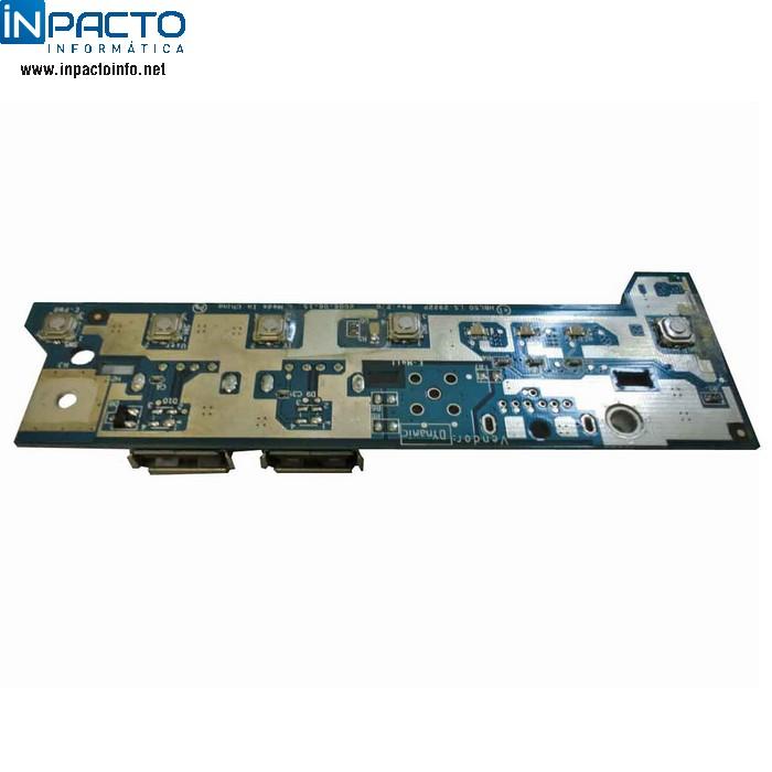 PLACA BOTÃO POWER E USB  NOTEBOOK ACER 5650 - In-Pacto Informática